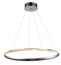 Suspension LED cristal Saturne