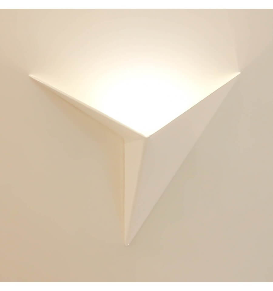 Applique murale led design london coloris blanc - Applique pour couloir ...