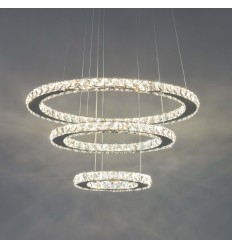 Suspension prestige cristal LED - Oslo