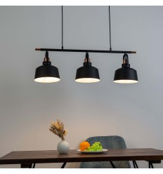 Suspension loft industrielle Triple - Musso