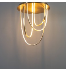 Grand plafonnier LED design - Vicarello