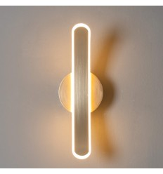 Applique murale design en arc LED laiton - Dawn