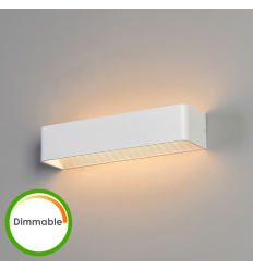 Applique design LED blanche - Quadra
