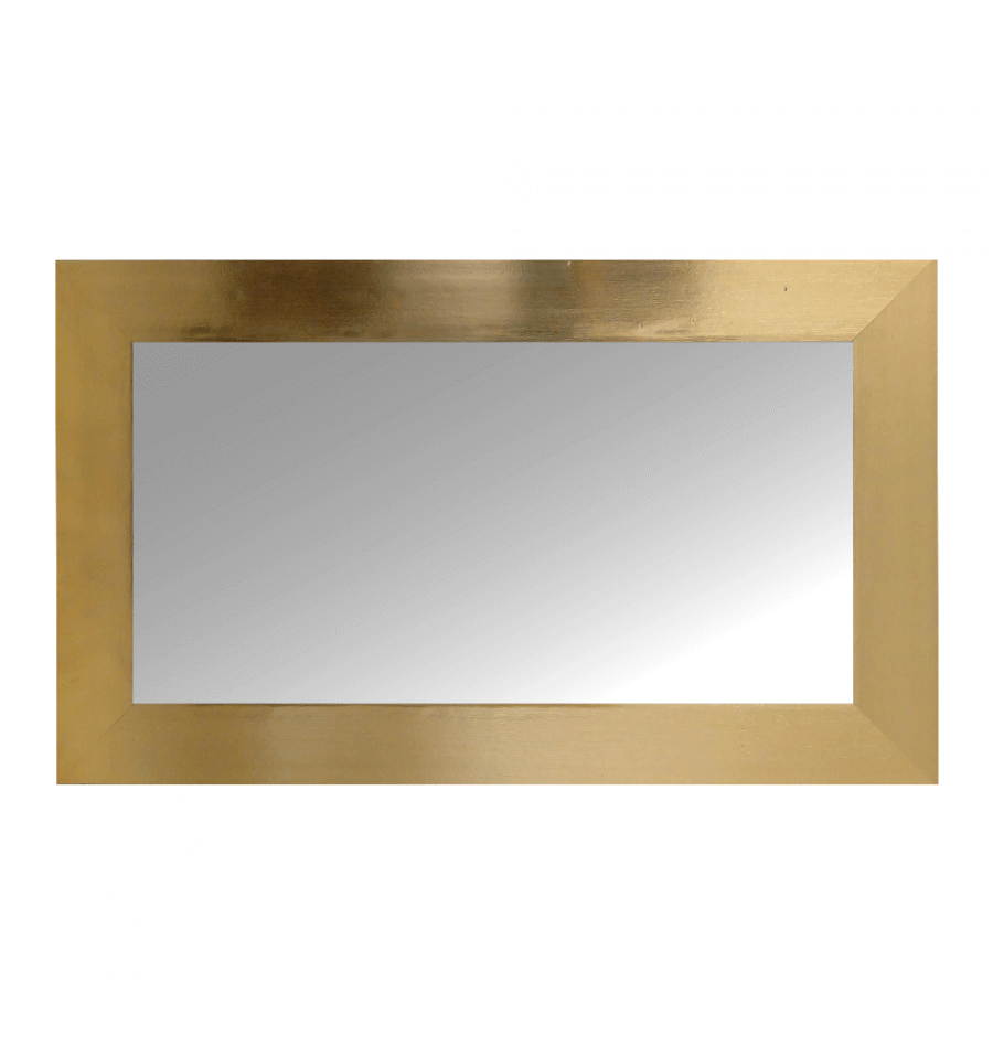D co miroir design rectangle en bois 12 33 66 for Miroir design solde