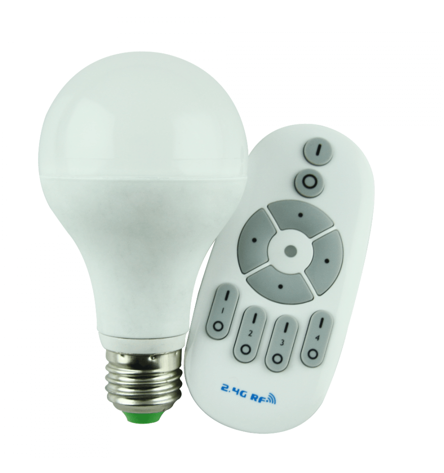 ampoule led 12 watt intensit variable avec t l commande