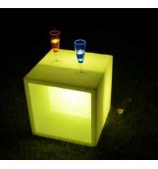 Cube / table basse LED multicouleur RGB