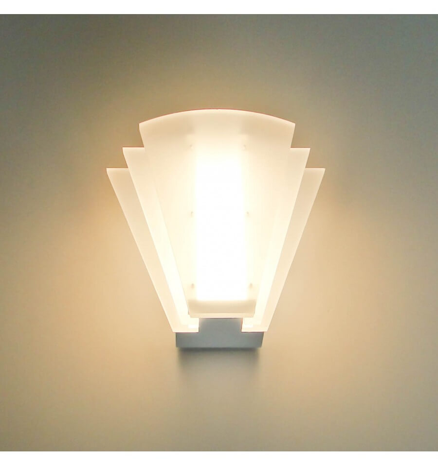 Applique murale led blanche piany 8x1w - Applique murale blanche ...
