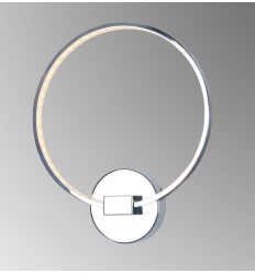 Applique murale design chrome LED - Collection Circle