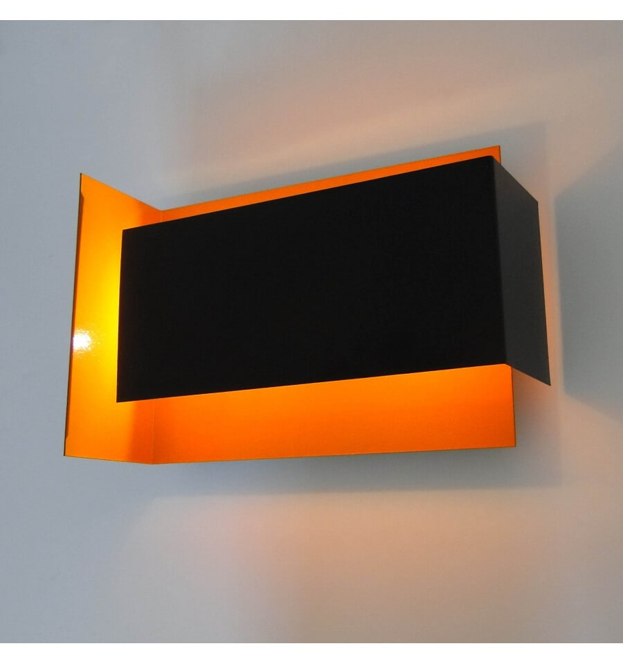 applique murale design chrome led rio