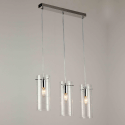 Suspension 3 verre cylindre triple - Edell