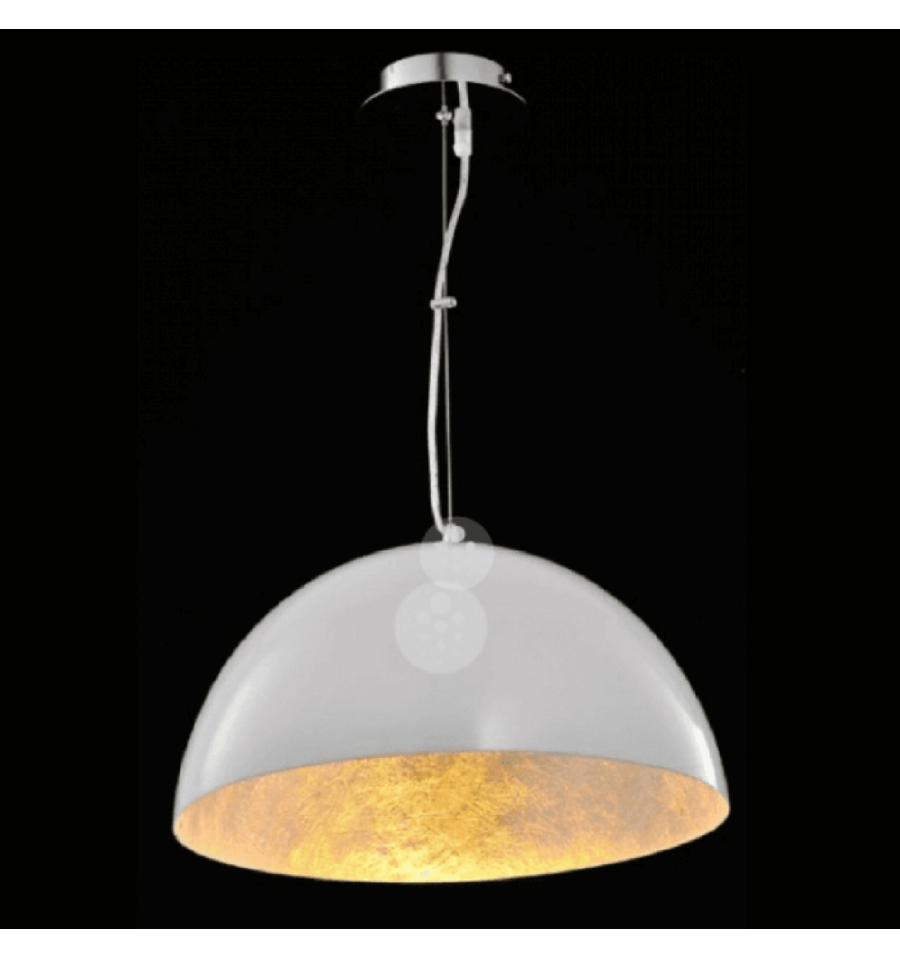 Suspension design suspension design lowell top luminaire for Luminaire blanc
