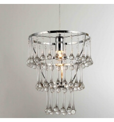 Suspension design verre Goutte