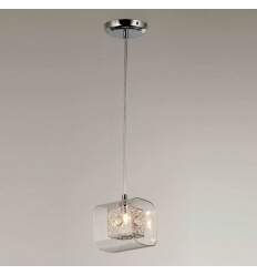 Suspension design verre
