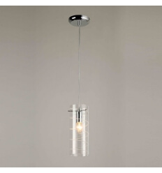 Suspension verre cylindre
