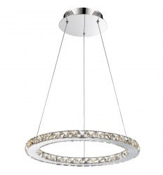 Suspension LED cristal design - Idale