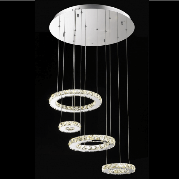 Lustre design crital LED  - Goya