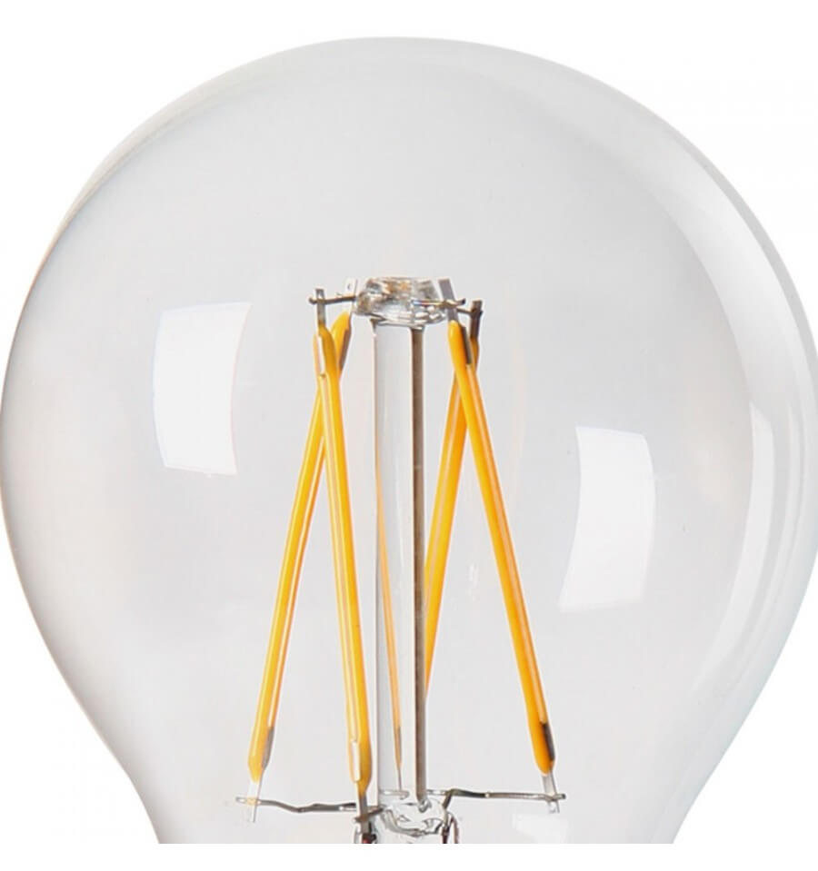 Ampoule E27 Filament Incandescente 40w Blanc Chaud: Verre Transparent Blanc Chaud