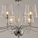 Lustre verre transparent