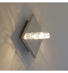 Applique murale LED bague cristal design - Spotlight