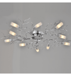 Plafonnier design 10 branches - Sherman