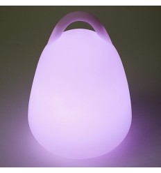 Lampe Egg LED sans fil accrochable H24 cm