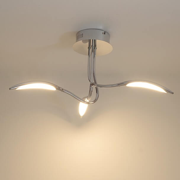 plafonnier LED 3 lampes