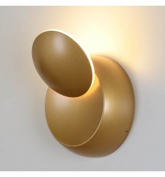 Applique LED Contemporaine - Shadow dorée