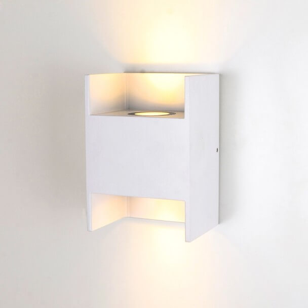 Applique murale tanche blanche led locker - Applique murale blanche ...