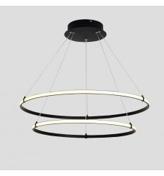 Lustre suspension LED 2 anneaux - Ozzello