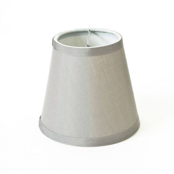 Abat-jour taupe polyester - Hope
