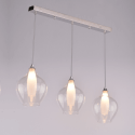 Suspension 3 gouttes design verre transparent - Vietra
