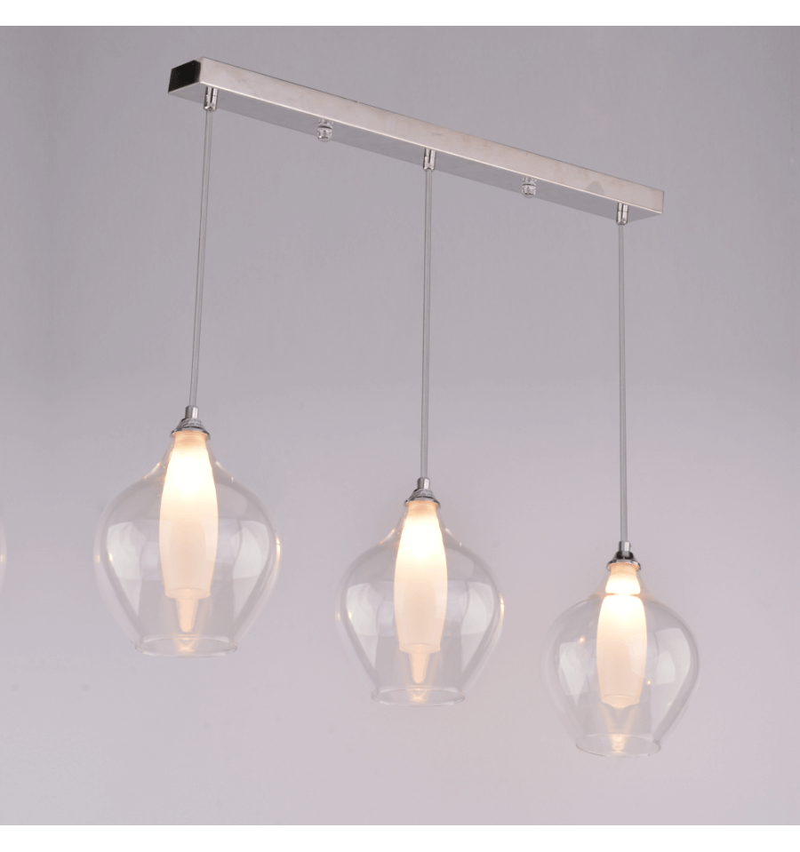 Suspension design 3 gouttes vietra kosilum for Suspension trois lampes