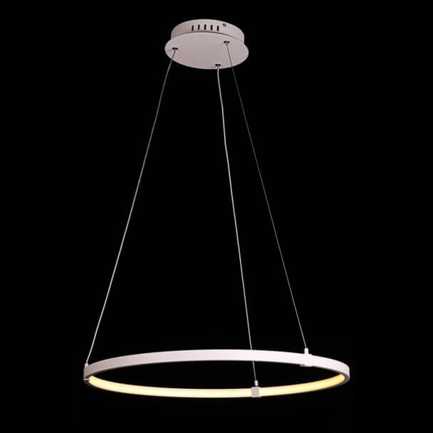 Suspension LED contemporain - Uccello blanc sable