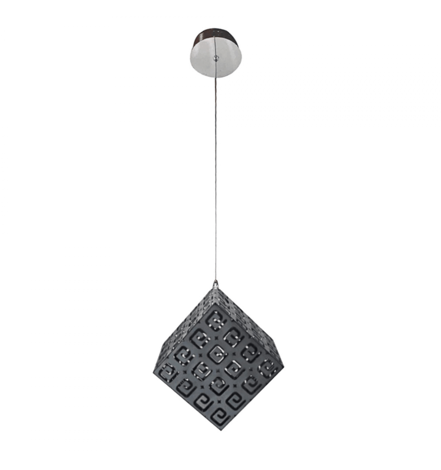 Suspension lampe moderne noire style chic collection for Suspension contemporaine