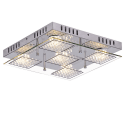 Lustre plafonnier LED à strass 33 cm - Diamond