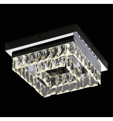 Luminaire plafond design carré - Million 30 cm