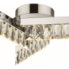 Plafonnier triple luxueux cristal LED - Million
