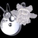 Applique baroque en verre LED - Blossom