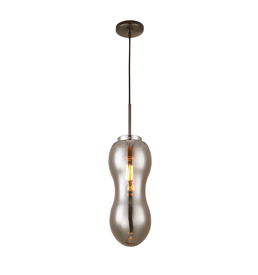 Achat luminaires design moderne suspension design almera for Suspension verre transparent