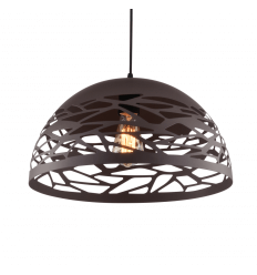 Suspension naturelle gamelle architecte brun - Forest