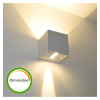 Lampe murale LED variable 6W - Cubic Blanc